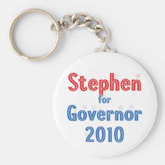 John Stephen for Governor 2010 Star Design Keychain