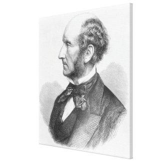 John Stuart Mill Canvas Prints