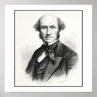 John Stuart Mill Portrait Print