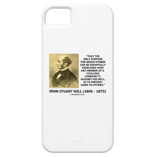 John Stuart Mill Prevent Harm To Others Quote iPhone 5 Cases