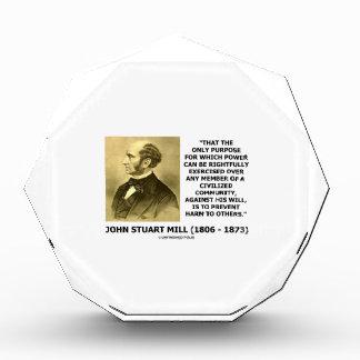 John Stuart Mill previene daño a otros cita