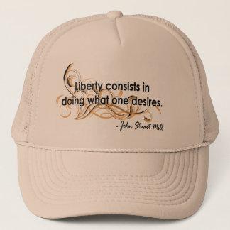 John Stuart Mill Trucker Hat