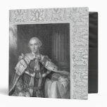 John Stuart, Third Earl of Bute, engraved 3 Ring Binders