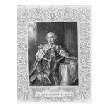 John Stuart, Third Earl of Bute, engraved Postcards