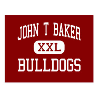 John T Baker - Bulldogs - Middle - Damascus Postcard