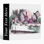 John Tenniel Alice's Mad Tea Party Pastels Binders
