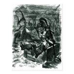 John Tenniel: Armario de Davy Jones Postal