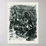 John Tenniel: Armario de Davy Jones Posters