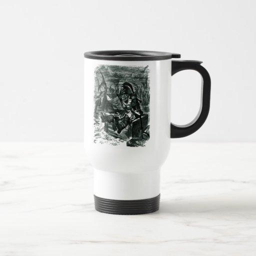 John Tenniel: Armario de Davy Jones Tazas De Café
