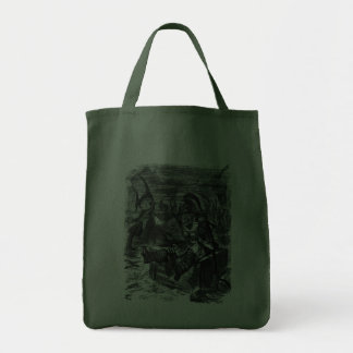 John Tenniel: Davy Jones Locker Grocery Tote Bag