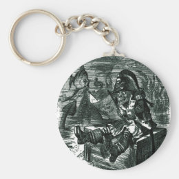 John Tenniel: Davy Jones Locker Keychain
