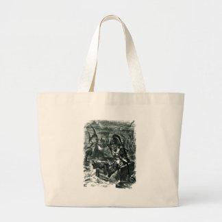 John Tenniel: Davy Jones Locker Large Tote Bag