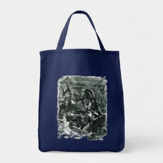 John Tenniel: Davy Jones Locker Tote Bag