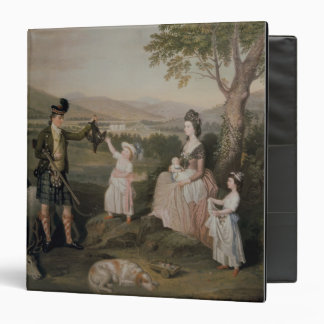 John, the 4th Duke of Atholl and his family Vinyl Binders