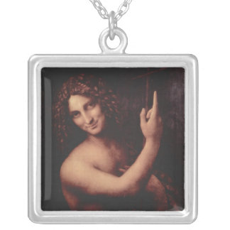 John the Baptist (1513 to 1516) Silver Plated Necklace