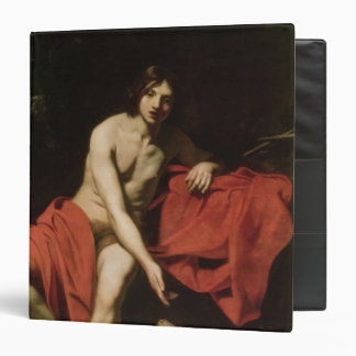 John the Baptist 3 Ring Binder