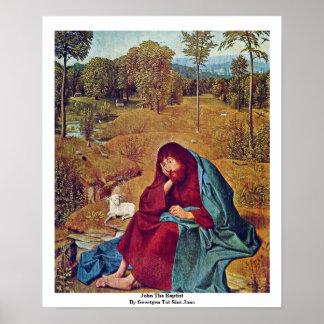 John The Baptist By Geertgen Tot Sint Jans Posters
