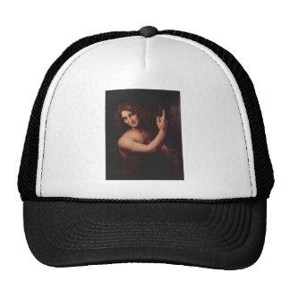 John the Baptist by Leonardo Da Vinci c. 1513-1516 Trucker Hat