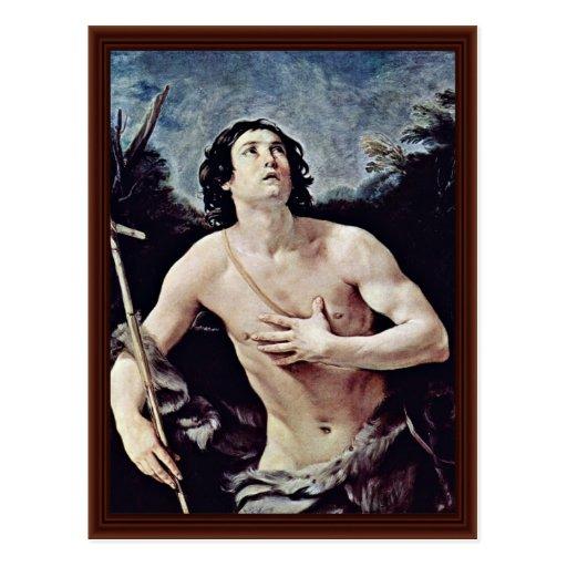 John The Baptist By Reni Guido Postcard