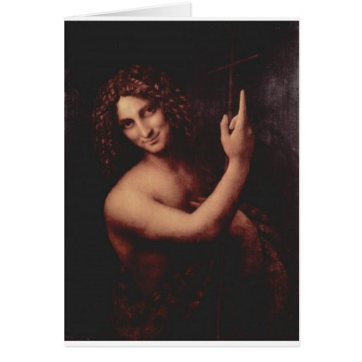 John the Baptist Greeting Cards