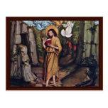 John The Baptist In The Wilderness Postcard