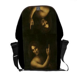 John the Baptist - Leonardo Da Vinci (1513-1516) Courier Bags
