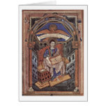 John The Evangelist By Master Of New Court School Card