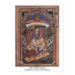 John The Evangelist By Master Of New Court School Postcards