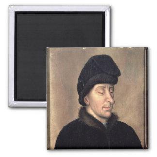 John the Fearless, Duke of Burgundy 2 Inch Square Magnet