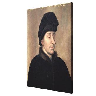 John the Fearless, Duke of Burgundy Canvas Print