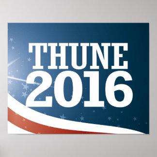 John Thune 2016 Poster