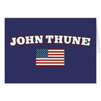 John Thune for America Card