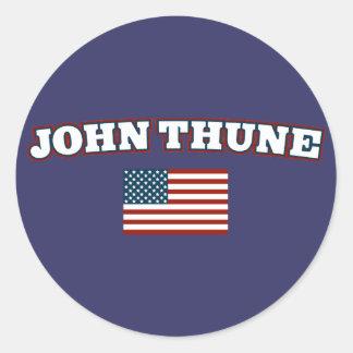 John Thune for America Classic Round Sticker
