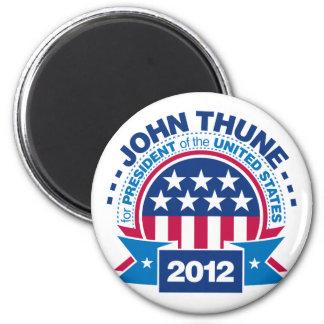 John Thune for President 2012 2 Inch Round Magnet