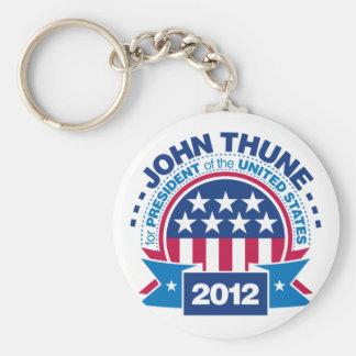 John Thune for President 2012 Basic Round Button Keychain