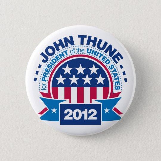 John Thune for President 2012 Button
