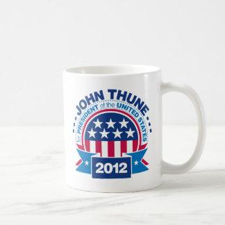 John Thune for President 2012 Classic White Coffee Mug