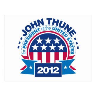 John Thune for President 2012 Postcard