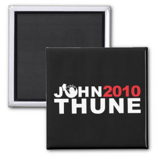 John Thune Liberty 2010 2 Inch Square Magnet