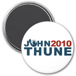John Thune Liberty 2010 3 Inch Round Magnet