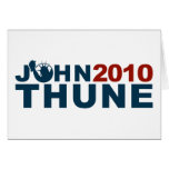 John Thune Liberty 2010 Greeting Card