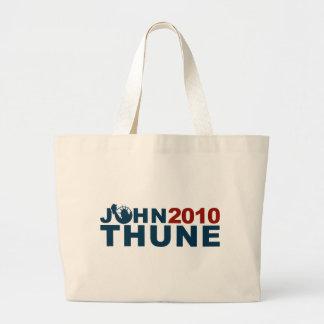 John Thune Liberty 2010 Large Tote Bag
