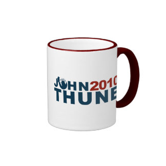John Thune Liberty 2010 Ringer Mug