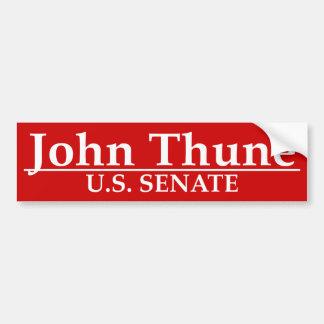 John Thune U.S. Senate Bumper Sticker