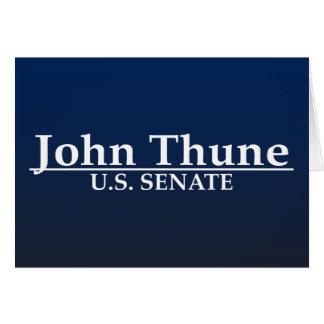John Thune U.S. Senate Card