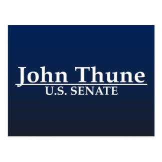 John Thune U.S. Senate Postcard
