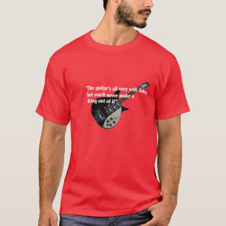 John to guitar Liverpool Auntie Mimi T-Shirt