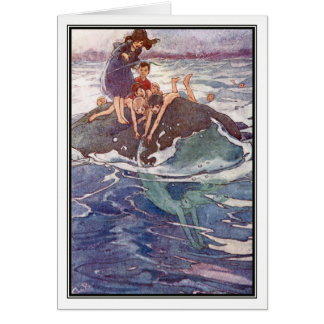 John Tries to Catch a Mermaid by Alice B. Woodward Card