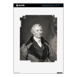 John Trumbull (1756-1843) engraved by Asher Brown iPad 3 Decal