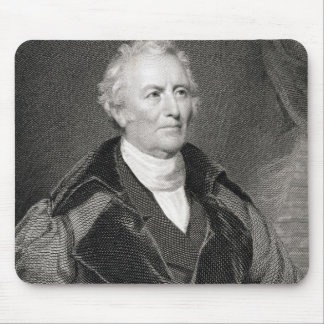 John Trumbull (1756-1843) engraved by Asher Brown Mouse Pad
